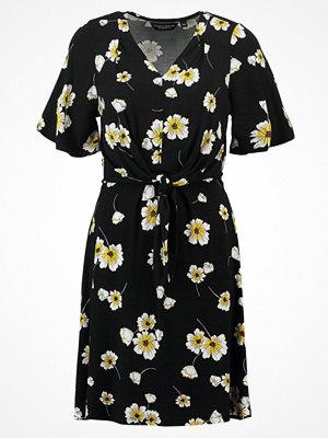 Dorothy Perkins DAISY FLORAL KNOT Jerseyklänning black