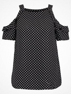 Dorothy Perkins COLD SHOULDER Blus black