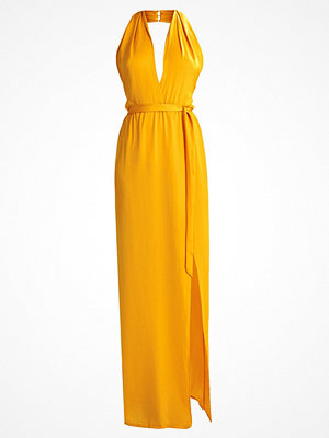 Missguided TWIST NECK  Maxiklänning yellow