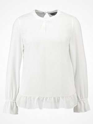 Dorothy Perkins GATHERED NECK AND CUFF  Blus ivory