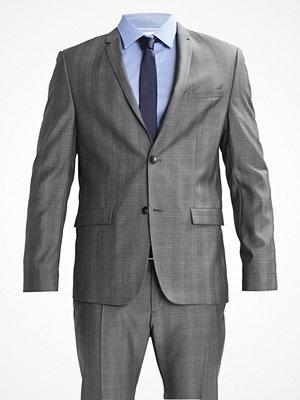 Kavajer & kostymer - Calvin Klein TABOR/PARIS TONAL Kostym mid grey