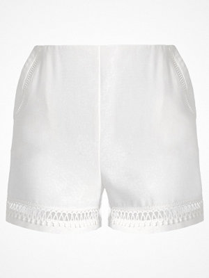 Topshop LACE TRIM Shorts ivory