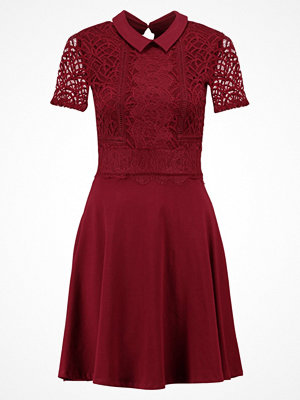 Dorothy Perkins TWOTONE LACE  Sommarklänning red