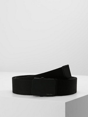 Bälten & skärp - Calvin Klein PLAQUE  Skärp black