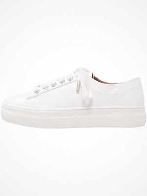 Topshop CARAMEL FLATFORM   Sneakers white
