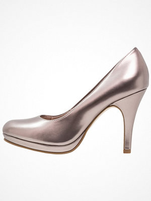 Tamaris Klassiska pumps pewter