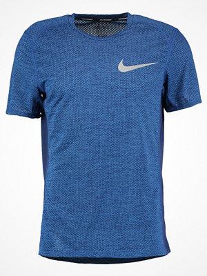 Sportkläder - Nike Performance BREATHE MILER COOL Funktionströja binary blue/heather/reflective silver