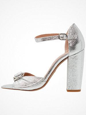 Sandaler & sandaletter - Whistles THURZA RING DETAIL HEEL Sandaletter silver