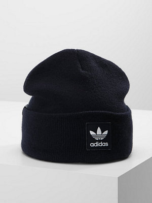 Mössor - Adidas Originals LOGO BEANIE Mössa legend ink/white