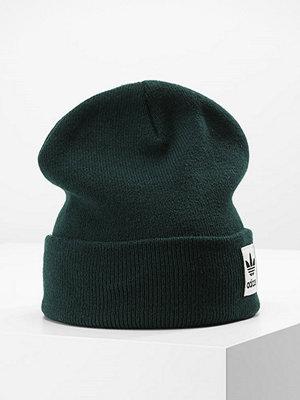 Mössor - Adidas Originals HIGH BEANIE Mössa dark green