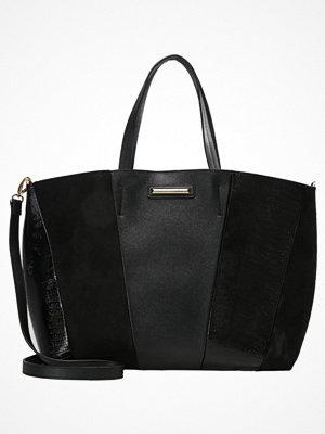 Dorothy Perkins svart shopper PANEL Shoppingväska black