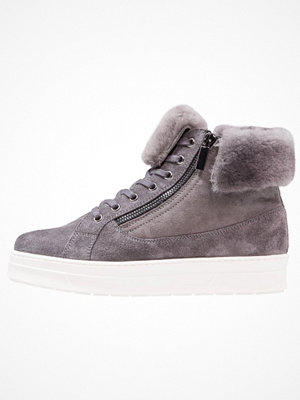 Caprice Ankelboots dark grey/white