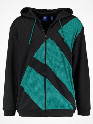 Street & luvtröjor - Adidas Originals EQT FZ HOODY Luvtröja black