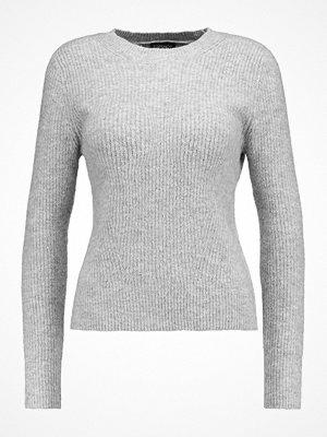 Topshop CREW Stickad tröja grey marl