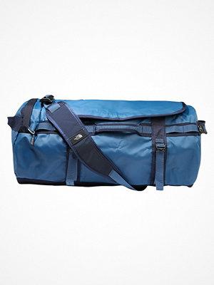 The North Face BASE CAMP DUFFEL M Resväska dark blue omönstrad