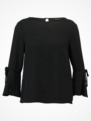 Dorothy Perkins FLUTE TIE  Blus black