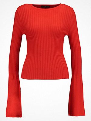 Even&Odd Stickad tröja red