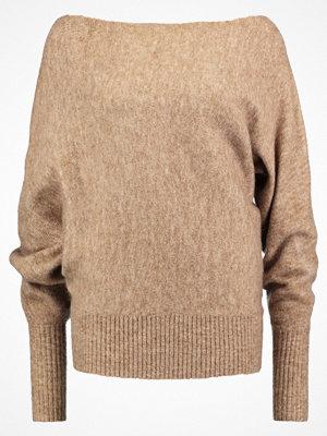 KIOMI Stickad tröja light brown melange