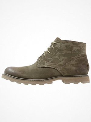 Boots & kängor - Sorel MADSON CHUKKA WATERPROOF CAMO Snörstövletter braun