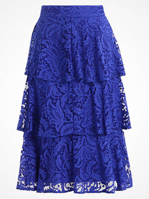 Dorothy Perkins TIERED LACE  Alinjekjol blue