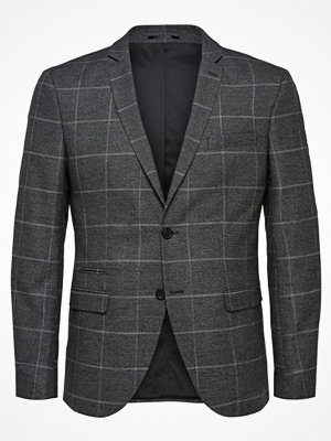 Kavajer & kostymer - Selected Homme Kavaj medium grey melange