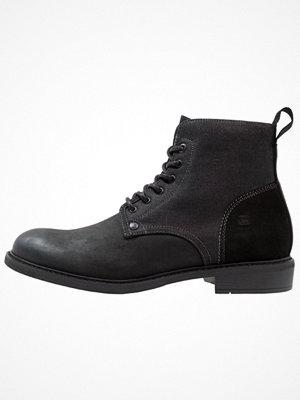 Boots & kängor - G-Star GStar WARTH MID Snörstövletter black