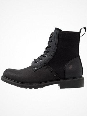 Boots & kängor - G-Star GStar LABOUR Snörstövletter black