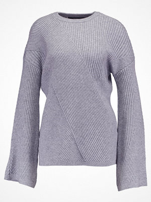 Vero Moda VMELLA  Stickad tröja light grey melange