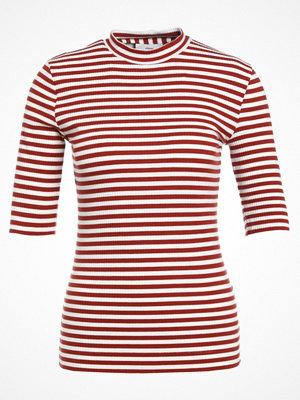 Minimum CHATRINE Tshirt med tryck red ochre