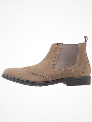 Boots & kängor - Geox JAYLON Stövletter grey