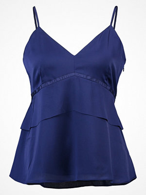 Banana Republic PEPLUM LAYERED SOLID Linne cobalt