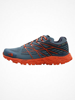 Sport & träningsskor - The North Face ULTRA ENDURANCE GTX Löparskor terräng provincial blue/nasturtium orange