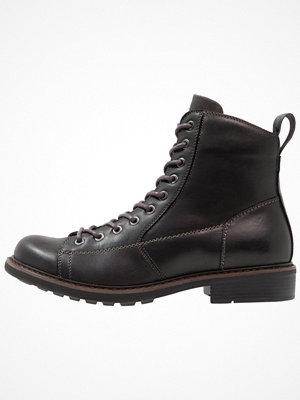 Boots & kängor - G-Star GStar ROOFER Snörstövletter black