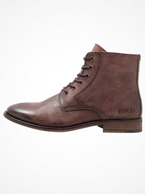 Boots & kängor - Replay CRAIG Snörstövletter dark brown