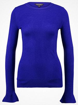 Dorothy Perkins FLUTE SLEEVE Stickad tröja blue