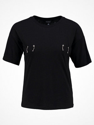 Topshop PIERCED  Tshirt med tryck black