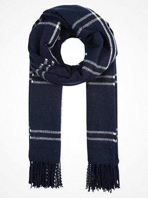 Halsdukar & scarves - Vero Moda VMCHECK LONG Halsduk navy blazer