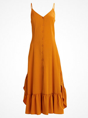 Weekday WINONA Skjortklänning ockra