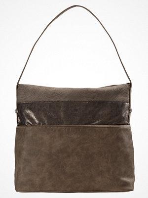 Tamaris omönstrad shopper KHEMA HOBO BAG Shoppingväska brown