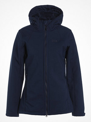 Sportjackor - Jack Wolfskin ROCK VALLEY Softshelljacka midnight blue