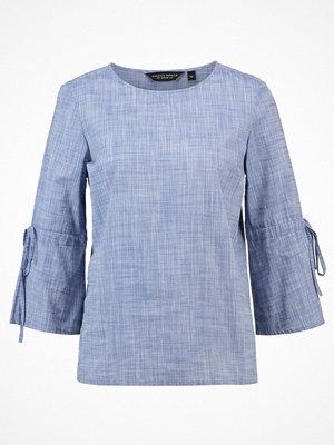 Dorothy Perkins FLUTE SLEEVE TIE Blus blue