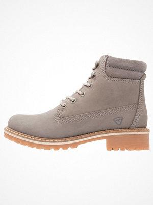 Boots & kängor - Tamaris Snörstövletter grey