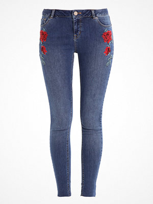 Dorothy Perkins ROSE EMBROIDERED DARCY Jeans Skinny Fit indigo