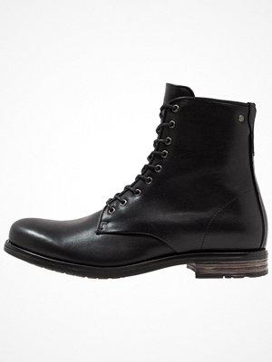 Boots & kängor - Sneaky Steve VESPER  Snörstövletter black