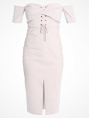 Topshop TWST Jerseyklänning lightgrey