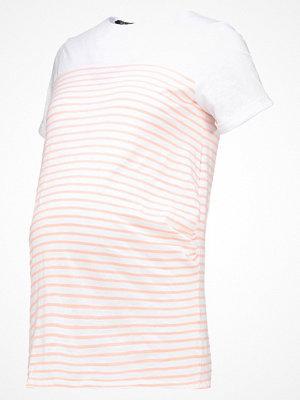 New Look Maternity PLAIN YOKE STRIPE Tshirt med tryck orange