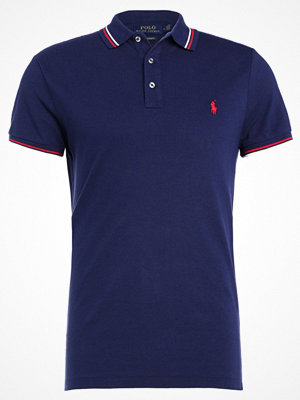 Polo Ralph Lauren FEATHER CUSTOM SLIM FIT Piké french navy