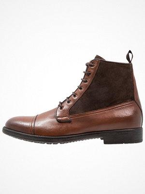 Boots & kängor - Geox JAYLON Snörstövletter ebony
