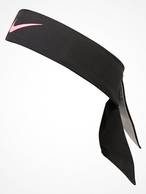 Mössor - Nike Performance TENNIS Öronvärmare black/wolf grey/hot punch