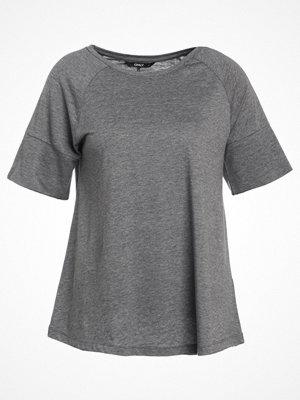 Only ONLPALLUW  Tshirt bas dark grey melange